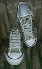 Chuck Taylor All Star CONVERSE Clear Low Top Sneakers Women's Size 6