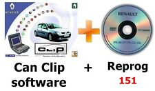 V164 Renault CAN Clip software + Reprog 151 (January 2017)