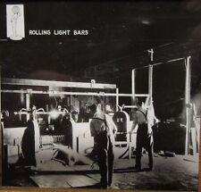"""c 1910 FACTORY SCENE - INDUSTRY """"Rolling Light Bars"""" Glass Lantern Photo Slide"""