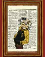Soul Eater Dictionary Art Print Poster Picture Anime Manga Evans Figure