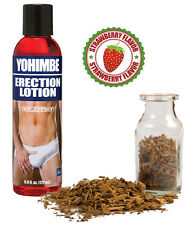 Yohimbe Erection Lotion Natural Herbal Stay Hard Penis Enlarger Enhance Sex Lube