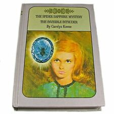 Nancy Drew Twin Volume The Spider Sapphire Mystery, The Invisible Intruder