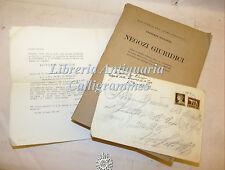 DIRITTO ROMANO: Vittorio Scialoja, NEGOZI GIURIDICI 1933 Invito Commemorazione