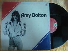 DISCO  33 GIRI  AMY BOLTON - OMONIMO - BABY RECORDS 1981 VG+/GD
