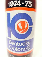 vintage ACL SODA pop BOTTLE - full RC COLA /1974-1975 KENTUCKY COLONELS - 16 oz