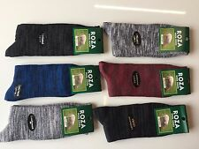 6 Pairs MENS THICK CHUNKY WOOL WORK HIKING BOOT SOCKS WARM SIZE UK  6-11 UHJGYTB
