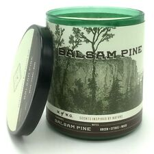 Makers of Wax Goods Balsam Pine Scented Candle Wood Wick Medium