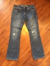 "Women's Size 6 American Eagle True Boots Jeans 32"" Inseam Very Good"