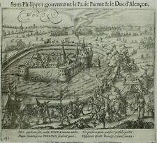 Kupferstich 1616 - SCHLOSS WOUW Woude - Baudartius
