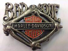 Vintage Harley Davidson Hebilla De Cinturón