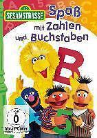 Sesamstrasse - Spaß mit Zahlen und Buchstaben  -- DVD  NEU & OVP VVK 05,08.2016