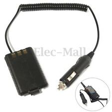 New 12V 1800mAh Car Charger Radio Battery Eliminator For Baofeng BF-UV5R Radio