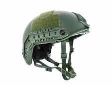 Lvl IIIA ATE® Ballistic Kevlar High Cut HHV Helmet-SOF MICH ACH-3 OD Green M/L