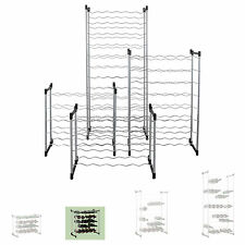 Weinregal System BARDOLINO, Metall , Modul 2 für 30 Fl., stapelbar / erweiterbar