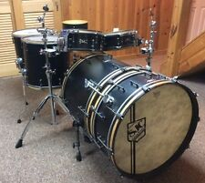 SJC Custom Drums - 6 Piece Black Satin Kit