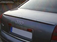 Audi A6 C5 4B 97-03 Saloon Boot Trunk Spoiler S Line Lip Wing Trim Lid Sedan 4d