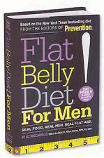 Flat Belly Diet! For Men: Real Food, Real Men, Real Flat Abs, Liz Vaccariello