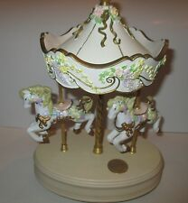 San Francisco Music Box Co. Carousel Collection 1995 Limited Edition 0324/4000