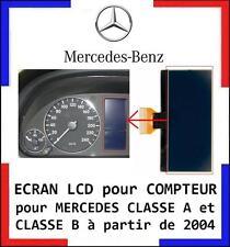 ECRAN LCD COMPTEUR ODB MERCEDES CLASSE A et B W169, W245, livré en 48h!