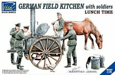 Riich Models RV35045 1/35 German Field Kitchen with Soliders