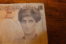 Di-faced Banksy Tenner Originally Notting Hill Carnival in 2004 & Dismaland 2016