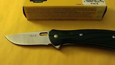 BUCK KNIFE SMALL VANTAGE SELECT 420HC PLAIN EDGE BLACK FOLDING KNIFE 340BKS