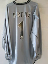 Manchester United 2001-2002 Cent Goalkeeper Barthez Football Shirt xxl /34776