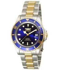 Invicta > diver azul/plata/oro watch reloj Náutico hau Automatikuhr Automatic reloj