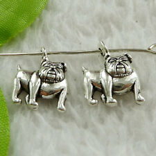 Free Ship 360 pieces tibet silver dog charms 18x13mm #1635