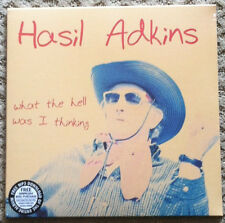 HASIL ADKINS 'What the Hell Was I Thinking LP New Psychobilly cramps Rockabilly