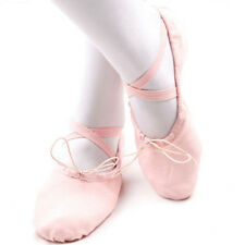 1pair Fashion Sweet Pink Women Girl Ballet Shoe Dance Soft Pointe New 30(18.5cm)