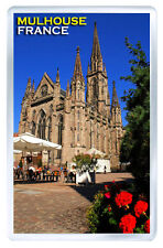 MULHOUSE FRANCE FRIDGE MAGNET SOUVENIR IMAN NEVERA