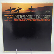 JIMMIE HASKELL JOHN SEVERSON PRESENTS SUNSET SURF LP CAPITOL RECORDS T-1915 MONO