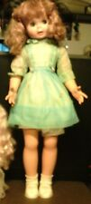 "UNEEDA 31"" FRECKLES DOLL WITH ORIGINAL DRESS GOOGLE EYES"