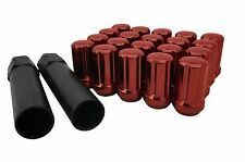 20pc Forged 6 Spline Tuner Lug Nuts Kit 12x1.25 Fits Nissan Infinity Subaru