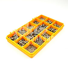 520 ASSORTED STAINLESS M3 M5 M6 GRUB SCREW CUP POINT HEX SET SOCKET ALLEN KIT