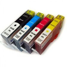 SET 4  REFILLED INK FOR USE IN HP 364XL BLACK CYAN MAGENTA YELLOW HP 364