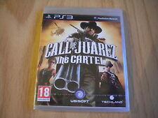 CALL OF JUAREZ   ! THE CARTEL  !  JEU PS3 NEUF BLISTER