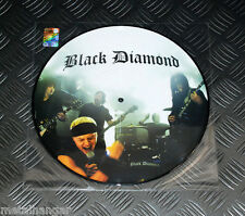 "Black Diamond Brigade 'Black Diamond' LTD 10"" Promo Picture Disc Rare Kiss Faith"