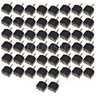 50pcs 3.5mm (1/8) Male Stereo Plug to 2x3.5mm Stereo Female Adapter Splitter