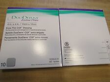 DUODERM 187955 EXTRA THIN CGF DRESSING 4X4  NEW BOX OF 10
