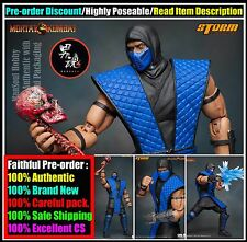 MSH Pre Order Receipt Storm Mortal Kombat SUB-ZERO 1/12 Action Figure VS Series