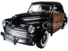 1946 FORD SPORTSMAN WOODY BLACK 1/18 ROAD SIGNATURE 20048
