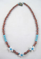 """Adorable New 18"""" Hawaiian Style Hibiscus Flower Necklace in 3 Colors #N2267"""