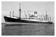mc3413 - Blue Funnel Line Cargo Ship - Aeneas - photo 6x4