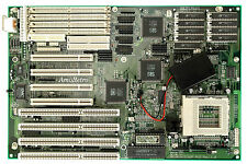 Intel Pentium / 586 PCI / ISA Motherboard (AT) - RS232 - Elitegroup Si55P AIO