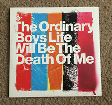 ORDINARY BOYS Life Will Be The Death Of Me 2005 PROMO CD SINGLE  Brassbound