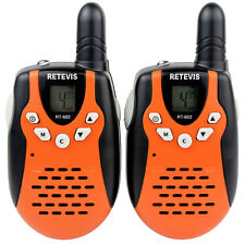2PCS Walkie Talkies 2-Way Radios UHF446MHz 8CH Kids Interphone Rechargeable Hot