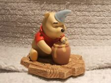 """Disney Pooh and Friends Pooh Figurine """"Hip-Hip Pooh-ray for Birthdays"""""""