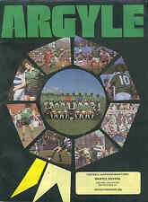 Football Programme - Plymouth Argyle v Bristol Rovers - Div 3 - 1982